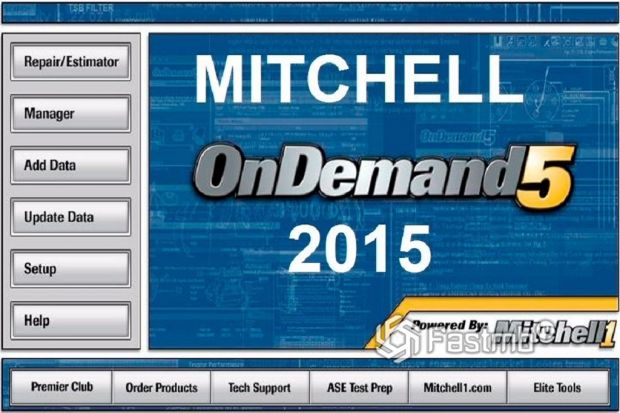 интерфейс Mitchell On Demand