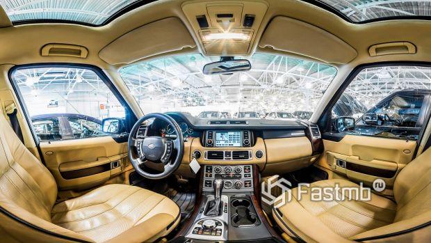 салон Land Rover Range Rover