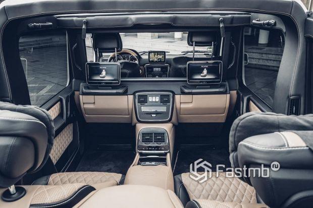 интерьер Mercedes-Maybach G650