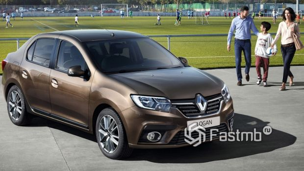 экстерьер Renault Logan