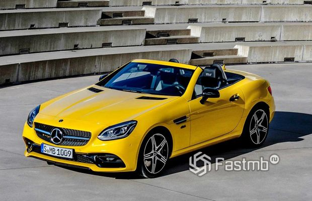 Mercedes SLC Final Edition