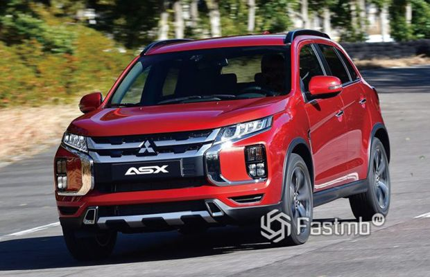 Обновленный Mitsubishi ASX 2019