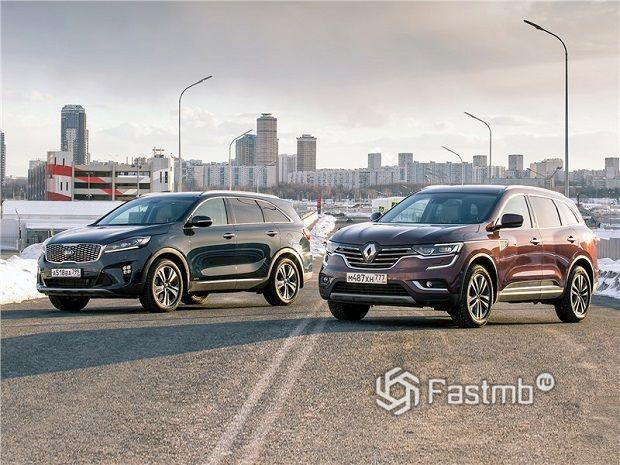 Kia Sorento vs Renault Koleos – что лучше?