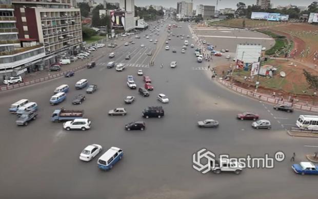 Т-образный перекрёсток Мескель, Аддис-Абеба