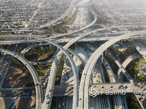 Самые сложные автомобильные развязки мира: ТОП-10