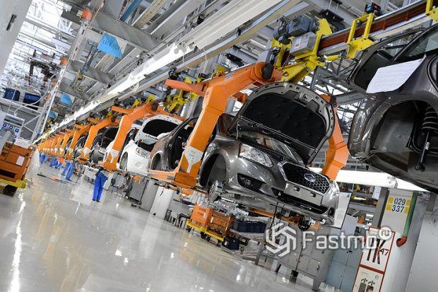 Выравнивание производства японских автомобилей