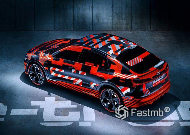 Новый Ауди e-Tron Sportback
