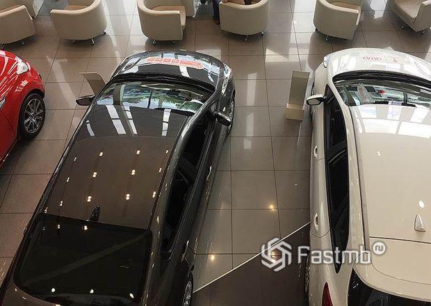 Статистика продаж новых автомобилей в России