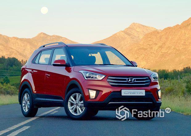 Новая Hyundai Creta 2018