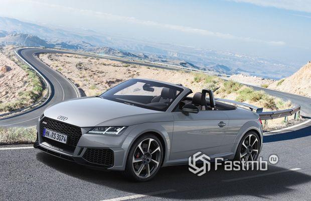 Новая Audi TT RS Roadster 2020