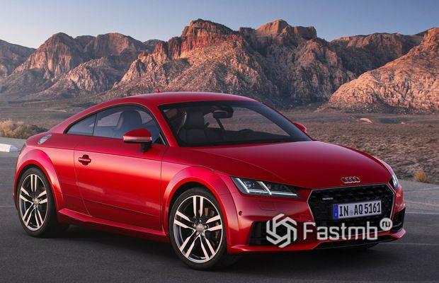Спортивная Audi TT Coupe 2019