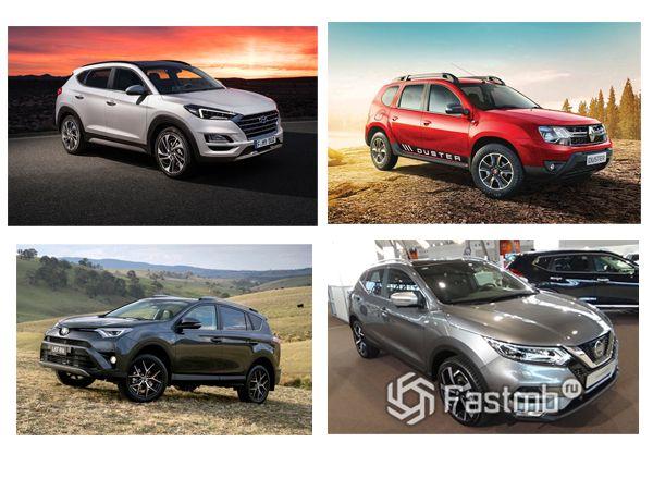 Популярные новые авто в Украине