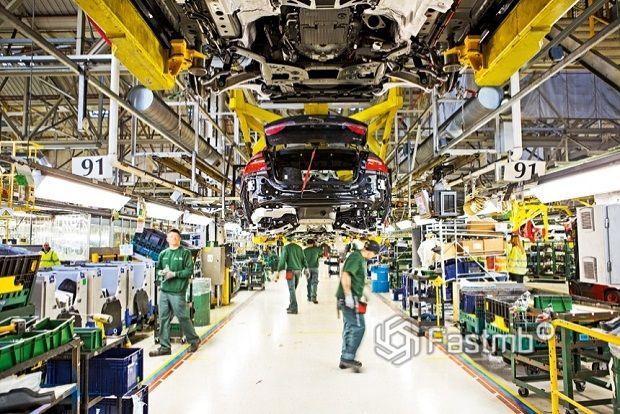 сборка двигателей для «Ягуаров»
