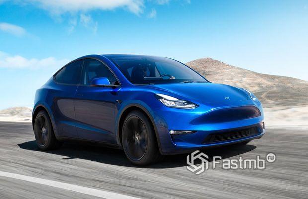 Премьера новой Тесла Model Y в США
