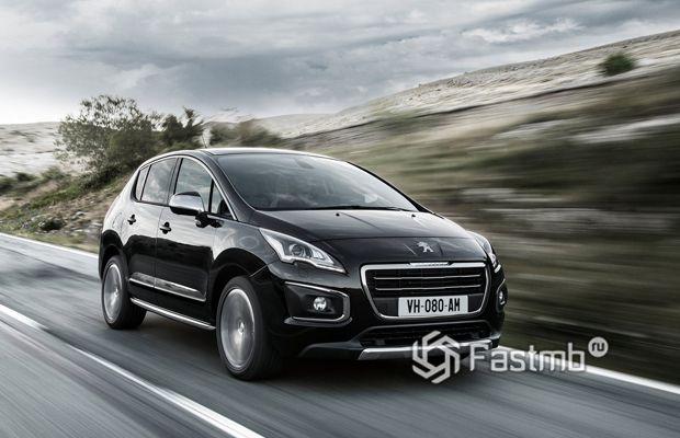 Новый Peugeot 3008 2016