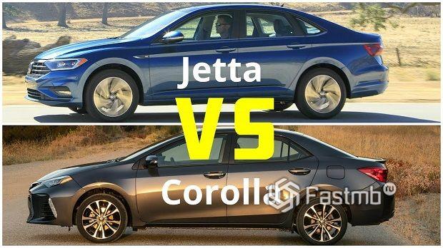 Toyota Corolla против VW Jetta — что лучше?