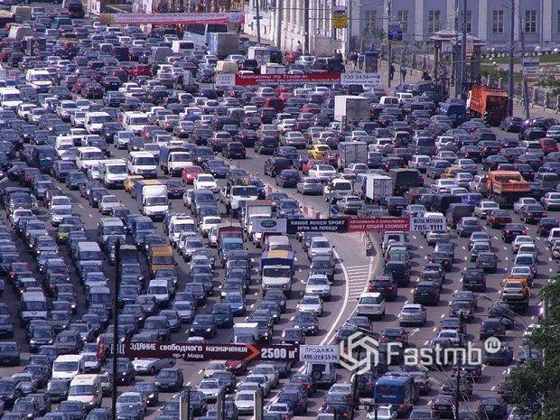 пробки в Санкт-Петербурге