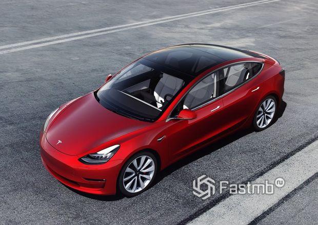 Лидер продаж Tesla Model 3 2018 в Европе