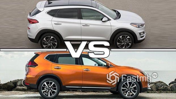 Nissan X Trail против Hyundai Tucson — что лучше?