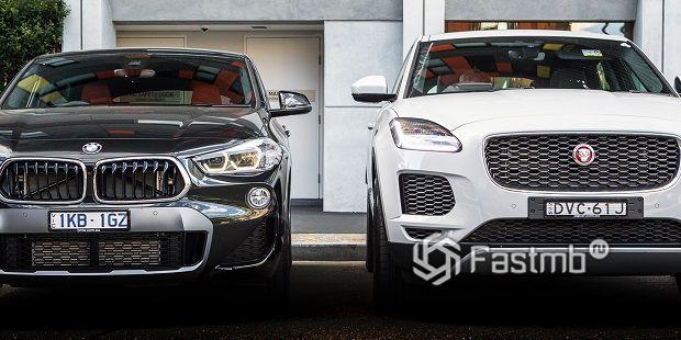 Jaguar E-Pace против BMW X2 — что лучше?