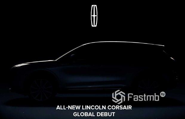 Дебют нового Lincoln Corsair 2020