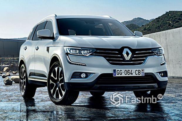 экстерьер Renault Koleos