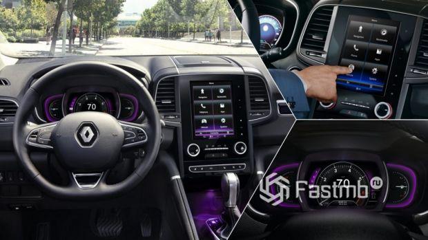 оснащение Renault Koleos
