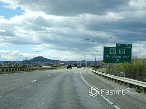 США. Автомагистраль М-90