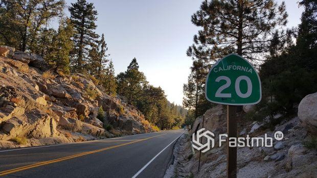 США. Скоростное шоссе US-20