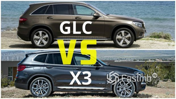 BMW X3 против Mercedes-Benz GLC — что лучше?