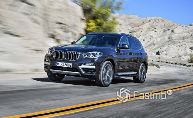 экстерьер BMW X3