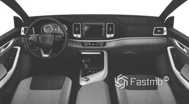 Передняя панель кроссовера УАЗ 3170