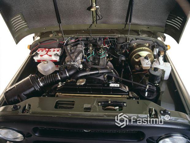 Бензиновый двигатель УАЗ Хантер