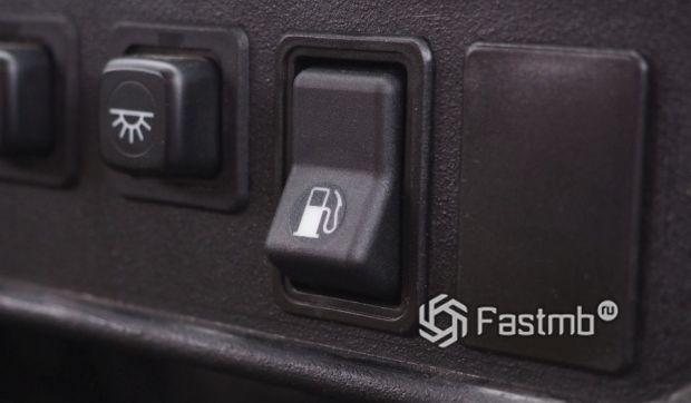 Кнопка для перекачки топлива с одного бака в другой