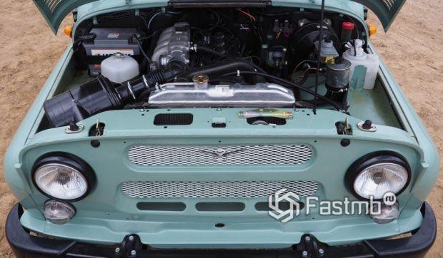 Бензиновый двигатель УАЗа