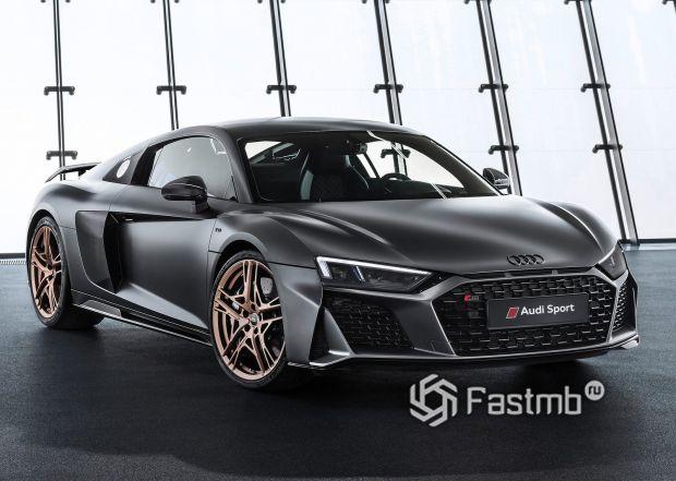 Спортивная Audi R8 V10 Decennium 2019