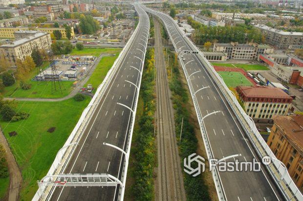 Западный Скоростной Диаметр Санкт-Петербурга