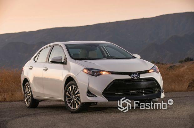 Внешний облик Toyota Corolla