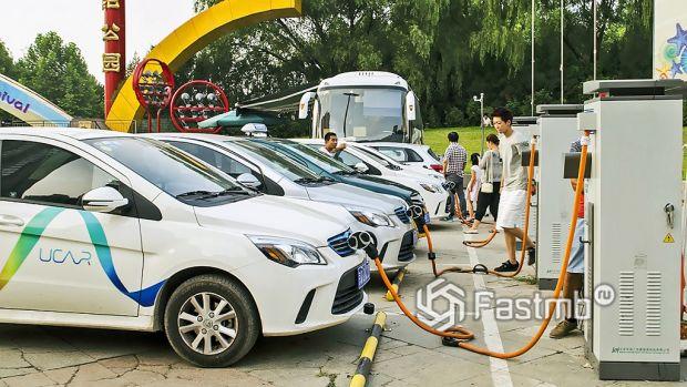 электромобили в Китае