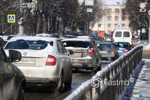 пробки в Нижнем Новгороде