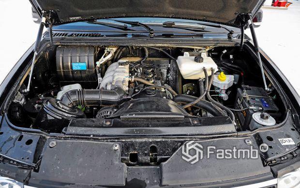 Обновленный двигатель Патриота