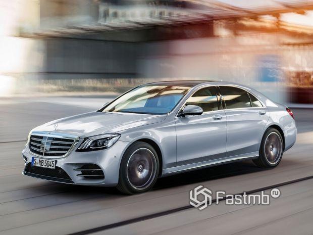 Mercedes S-класса: лучший представительский седан
