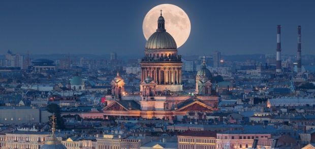 автомобильное путешествие в Санкт-Петербург
