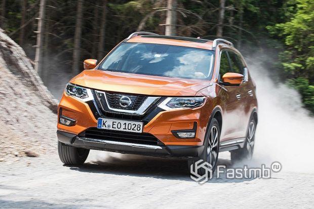 ездовые качества Nissan X-Trail