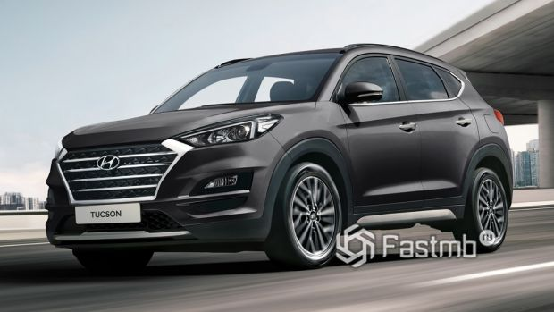 внешность Hyundai Tucson