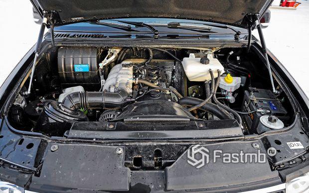 Новый двигатель УАЗ Пикап 2019