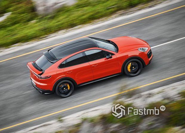 Крыша Porsche Cayenne Coupe 2020