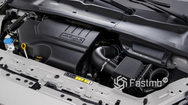 мотор Jaguar E-Pace