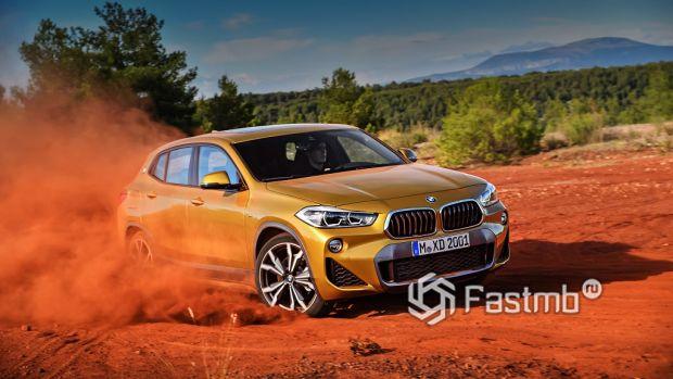 управляемость BMW X2