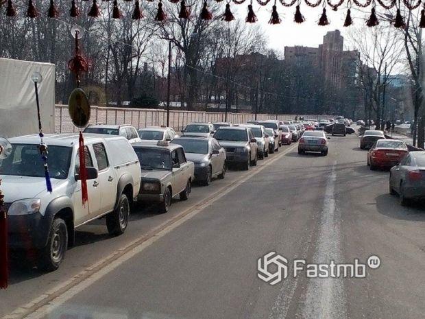 пробки в Харькове